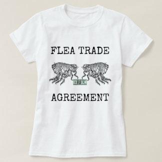 Camiseta Acuerdo comercial de la pulga