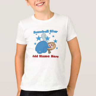 Camiseta adaptable de la estrella de béisbol