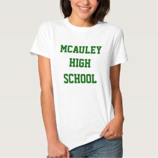 Camiseta adaptable del equipo de la High School