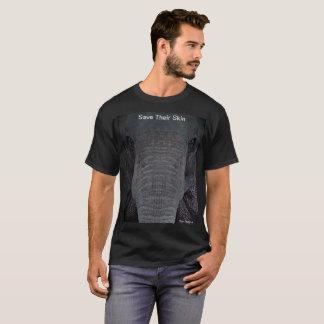 """Camiseta adaptable """"reserva elefante de su piel"""""""