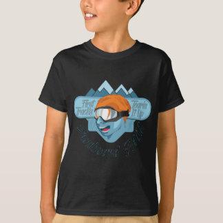 Camiseta Adicto a la snowboard