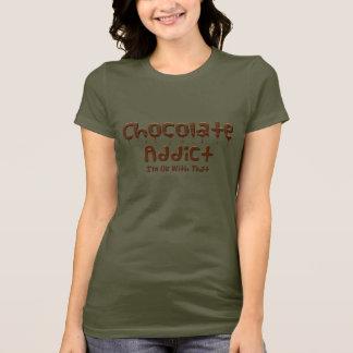 Camiseta Adicto al chocolate