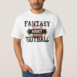 Camiseta Adicto al fútbol de la fantasía, estilo del equipo