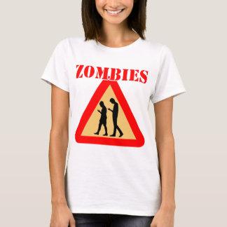 Camiseta Adolescencias del zombi con los teléfonos