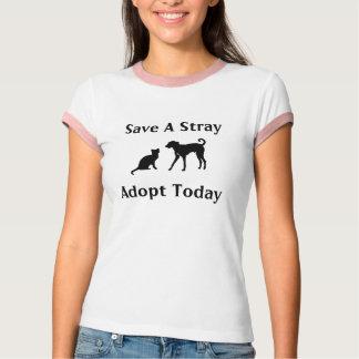 Camiseta adopte un parásito