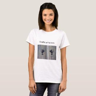 Camiseta adorable del ratón de la pintada
