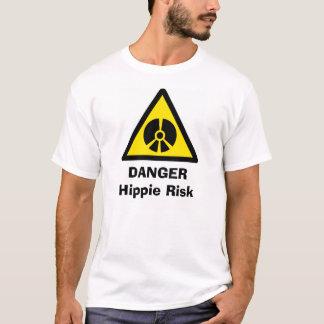 Camiseta Advertencia del Hippie