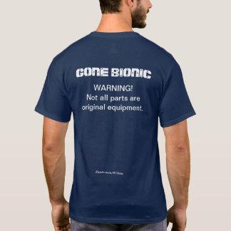 """Camiseta ¡""""ADVIRTIENDO!  No todas las piezas son"""