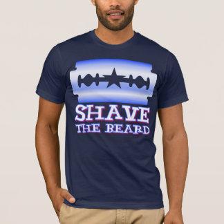 Camiseta Afeite la barba - Texas Rangers