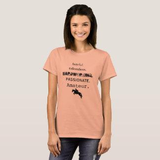 Camiseta Aficionado Talentless temeroso y más