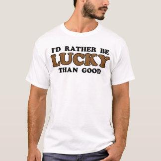 camiseta afortunada
