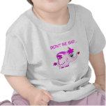 Camiseta afortunada linda del niño del meñique del