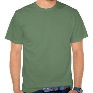 Camiseta africana del pino del safari