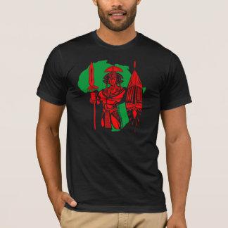 CAMISETA AFRICANA DEL RGB DEL GUERRERO