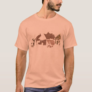 Camiseta africana fresca del pueblo para los