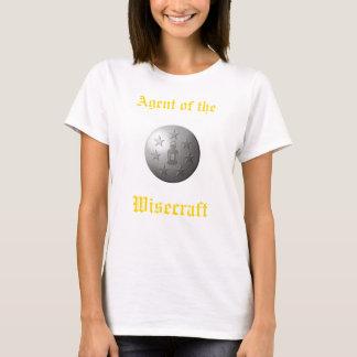 Camiseta ¡Agente del Wisecraft!