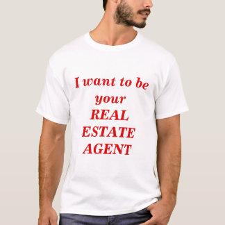 Camiseta Agente inmobiliario