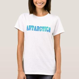 Camiseta Agua azul intrépida de la Antártida South Pole