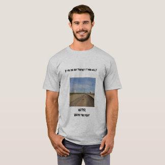 Camiseta agua digno de la lucha,