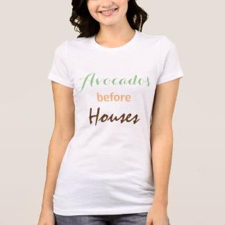 Camiseta Aguacates antes de casas