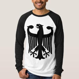 Camiseta Águila alemana con de la bandera la parte