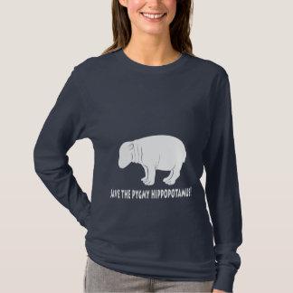 Camiseta Ahorre el hipopótamo del Pigmy