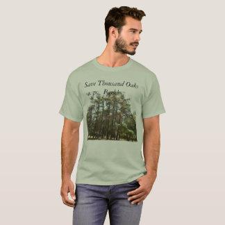 Camiseta Ahorre el parque de Thousand Oaks--los halcones y
