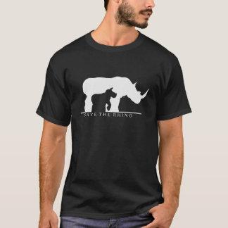 Camiseta Ahorre el rinoceronte