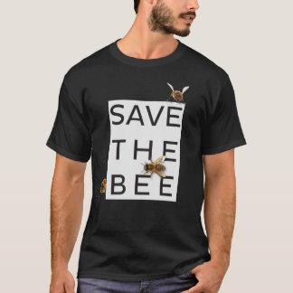 Camiseta ¡Ahorre la abeja! ¡Ahorre el mundo! Abeja