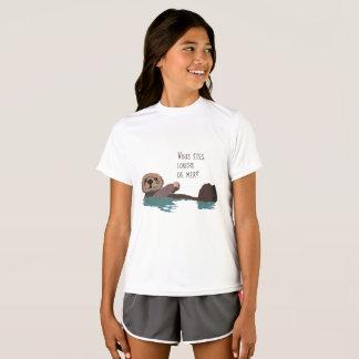 Camiseta Ahorre la nutria de mar