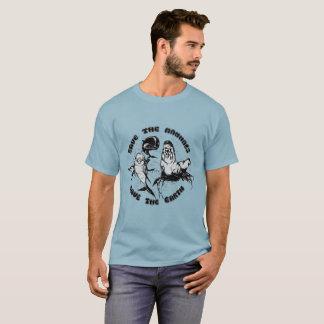 Camiseta Ahorre la tierra