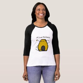 Camiseta Ahorre las abejas