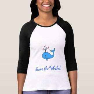 Camiseta ¡Ahorre las ballenas!