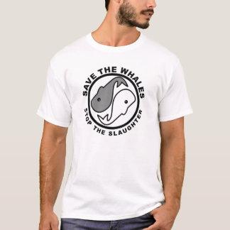 Camiseta Ahorre las ballenas - los derechos de los animales