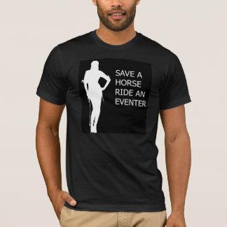Camiseta Ahorre un paseo del caballo un Eventer