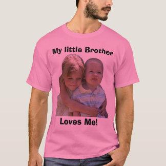 Camiseta ¡Aidan 3, mi pequeño Brother, me ama!