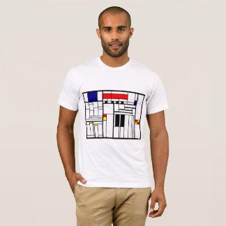 Camiseta ajustada calles del pueblo