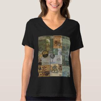 Camiseta Ajuste cómodo de Bella de la Béisbol-Aviación 8,