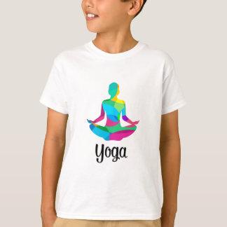 Camiseta Ajuste y aptitud de la yoga