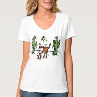 Camiseta al sudoeste del arte del diseño