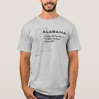 Camiseta Alabama:  Cortando nuestras narices al rencor
