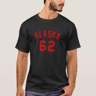 Camiseta Alaska 62 diseños del cumpleaños