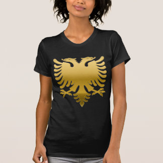 Camiseta Albanian oro Eagle 3D