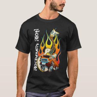 Camiseta ¡Alboroto del Rockabilly!
