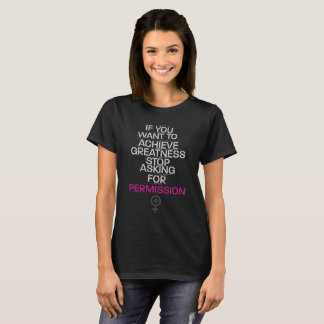 Camiseta Alcance la grandeza