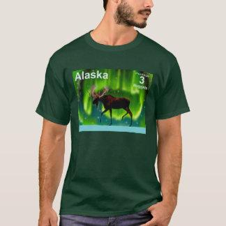 Camiseta Alces de la aurora boreal