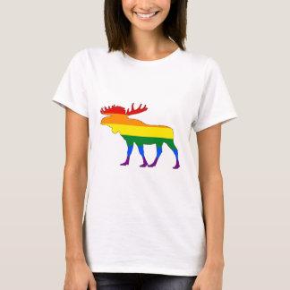 Camiseta Alces del arco iris