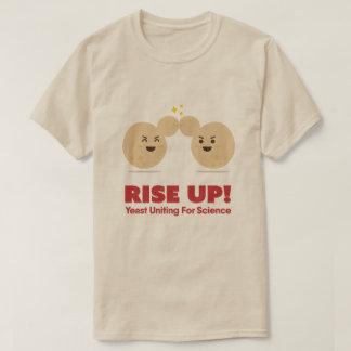 Camiseta ¡ÁLCESE! Levadura que une para la ciencia - la