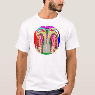 Camiseta ALCOHOL de la demostración n del TULIPÁN de un
