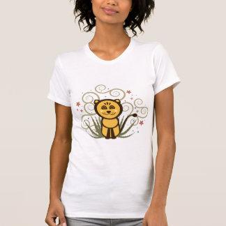 Camiseta alegre del león
